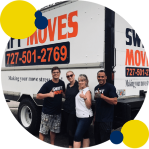 Swift Moves truck and crew