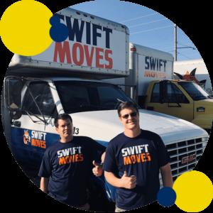 Swift Moves moving trucks