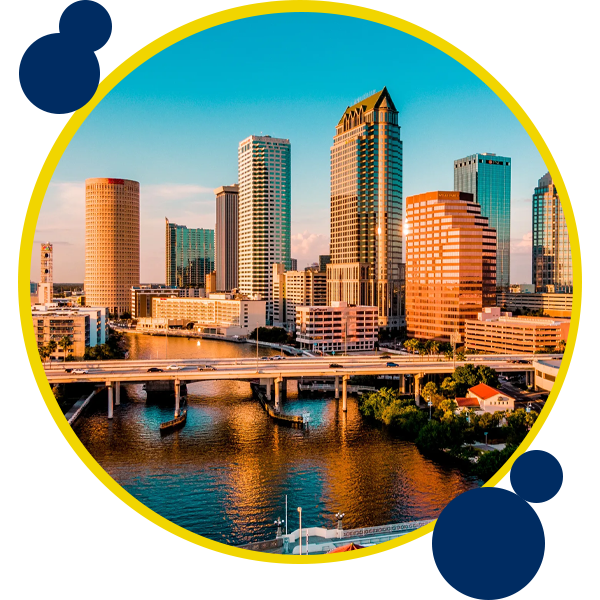 Image of Tampa where Swift Moves offer moving services